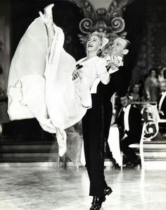 Kick up your heels withFred Astaire& Ginger Rogers. It's Friday!