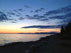Crescent Beach Sunset, Surrey, BC  I was here last weekend.