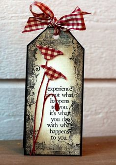 TLC392 Bookmark by Biggan - Cards and Paper Crafts at Splitcoaststampers