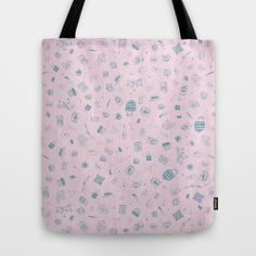pattern, cute, Dalahäst, canotier, cute things, shop http://society6.com/tresoret/My-favourite-things-6Le_Bag#26=197