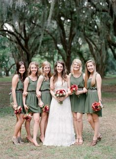 Bridesmaid Dress Ideas ❤️ -repinned from California officiant https://OfficiantGuy.com