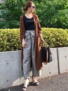 ユニクロGUじゃなくても着やすい!40代の秋コーデ | サンキュ! Japan Fashion, India Fashion, Hijab Fashion, Fashion Outfits, Womens Fashion, Casual Work Outfits, Cute Outfits, Japan Outfit, Hijab Style