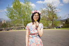 Used PIOL to design the perfect go-to floral dress for spring