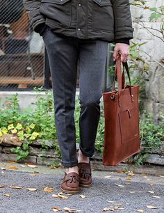 Essential Leather Tote Bag