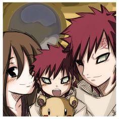 Naruto AU - Family Portrait