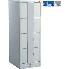 bringing secure solutions to the workplace. Free UK mainland delivery on Silverline Secure Kontrax Filing Cabinets. Filing Cabinets, Lockers, Locker Storage, Metal, Furniture, Home Decor, Decoration Home, Room Decor, Locker