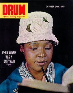 Apartheid Exposed in Drum Magazine - October 1965 Drum Magazine, Black Magazine, African Life, African History, Jim Bailey, Winnie Mandela, Vintage Drums, Apartheid, Vintage Magazines