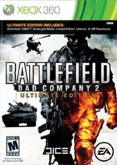 Battlefield Bad Company 2 Ultimate Edition Xbox 360 * Visit the image link more details. Note:It is Affiliate Link to Amazon.