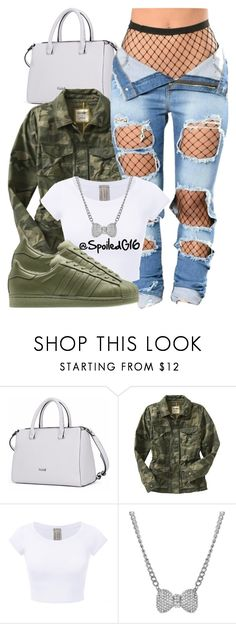 """I Am Your Leader."" by spoiledg16 ❤ liked on Polyvore featuring Old Navy and Talullah Tu"