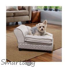 Hundesofa Chaiselong Cosmo - Hvid