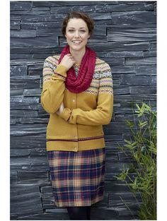 Female Country Rose irisle Cardigan | The Edinburgh Woollen Mill