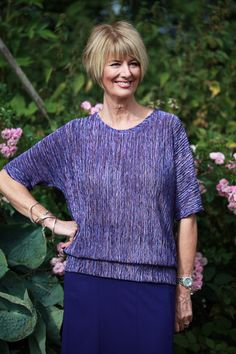 Capri Top in 2 Colours - Patricia Dawson