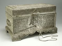 Casket: Mid-17th century. China (or Chinese masters working in the Portuguese or Spanish colonies of Southeast Asia)
