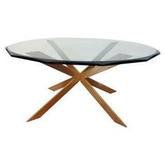 Leon Rosen for Pace Star Base Coffee Table