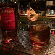 Cocktail le boisé doux-amer