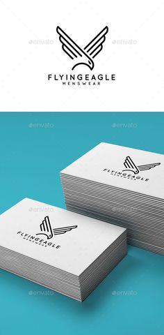 Flying Eagle - Animals Logo Templates