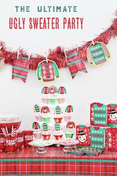 If you want to plan a fun Christmas party filled with lots of laughs and memories, this is the party for you! @craftingchicks shares her very merry idea for the ultimate Ugly Sweater Party and you can see all the details on our blog.