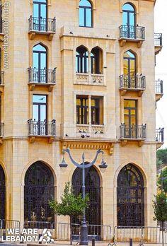 #Lebanese architecture in central #Beirut فن العمارة #اللبناني في وسط #بيروت Photo by Georges Daya
