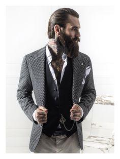 Abiti Eleganti Hipster.10 Fantastiche Immagini Su Uomo Hipster Barbe E Capelli