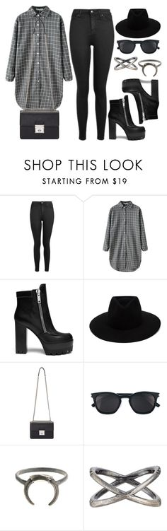"""Style #11495"" by vany-alvarado ❤ liked on Polyvore featuring Topshop, Mulberry, rag & bone, Dolce&Gabbana, Yves Saint Laurent and Eva Fehren"