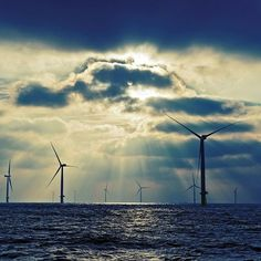 The beauty of our offshore windpark London Array - the largest in the world.