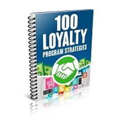 100 Loyalty Program Strategies  INSPIRATION As The Title Claims  Incl. Report & eCovers  #tips =============== Join me and you too can have access to 100  products to sell giveaway or study every month.  Best Internet Marketing Membership Site Online $$$ Get your first month at half price. $$$ You get immediate access to the full library.  Geez but don't worry it's only a little 8000 products.  To get your first month at half price just click on the link in my profile.  #affiliatemarketing…