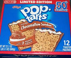SPOTTED ON SHELVES: Kellogg's Limited Edition Frosted Chocomallow Sundae Pop-Tarts