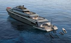 99m X-VINTAGE Dual Fuel | Pastrovich Studio – Yacht design