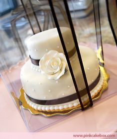 Click to enlarge Mini Cake Wedding Favors