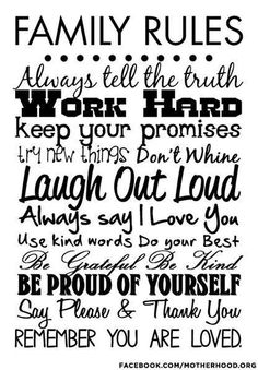 Words to live by ♥