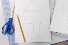 Legging stern drafting tutorial, including great instructions on taking measurements