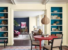 Trend Alert! These Will be the Hottest Paint Colors in 2018 | We spy some perfect beach house palettes among this 36-color trend report from Sherwin Williams.