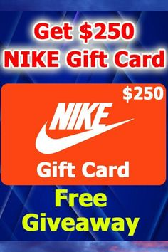 Right now, you can qualify for a $250 Nike gift card. All you have to do is answer a few questions and you could be on your way to redeeming this gift card.#nikegiftcard #nikegiftcarddiscount #nikegiftcardforfree #nikegiftcardfree #nikegiftcardonline #nikegiftcardbuy #nikegiftcardwheretobuy #nikegiftcardtarget #nikegiftcardwalmart #nikegiftcardnearme #nikegiftcardredeem #wheretogetnikegiftcard #nikegiftcarddeal #nikegiftcardbox #nikegiftcardforsale #nikegiftcardsale Nike Gift Card, Nike Gifts, Gift Card Sale, Gift Card Giveaway, Netflix Gift Card, Itunes Gift Cards, Free Gift Cards, Amazon Christmas Gifts, Mastercard Gift Card