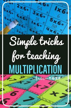 Teaching multiplication takes multiple strategies and let's face it, lots of PATIENCE! Multiplication & Division for Kids Math Strategies, Math Resources, Math Activities, Division Activities, Math For Kids, Fun Math, Math Help, Learn Math, Learning Multiplication