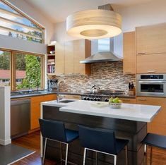 Decoraci n cocina on pinterest cabinets kitchen islands - Barras para cocinas pequenas ...