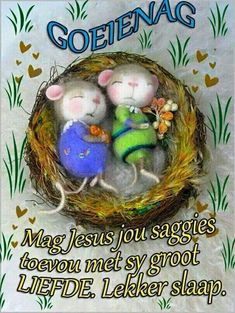 Wense Good Night Wishes, Good Night Quotes, Evening Greetings, Goeie Nag, Goeie More, Birthday Wishes, Qoutes, Christmas Ornaments, Holiday Decor