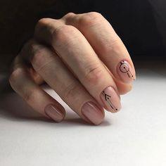 Minimalist nail design Bride Nails, Minimalist Nails, Hand Care, Beautiful Nail Art, Nail Arts, Short Nails, Diy Nails, Nail Designs, Nail Polish
