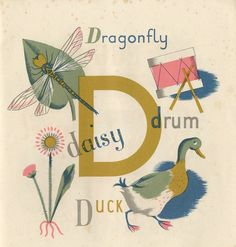 Vintage Puffin Book illustrations by Grace Gabler, ca. 1945
