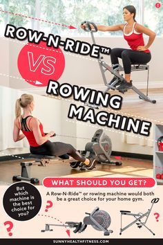 If you have to pick just one, a Row-N-Ride™ or rowing machine would both make for a great choice. But which machine is the best choice for you? Keep reading to learn about the features and benefits of both incredible machines and decide which one you should get. #sunnyhealthfitness #rownride #sunnyrownride #sunnyuprightrownride #rowingmachine #rower Health And Fitness Articles, Health Fitness, Rowing, The Incredibles, Gym, Sports, Hs Sports, Excercise, Sport