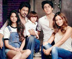 Shahrukh khan and family
