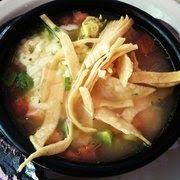 CHICKEN TORTILLA SOUP   Chuy's Restaurant Copycat Recipe     8 cups water                               ...
