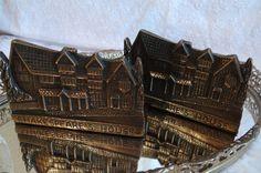 Vintage Shakespeare's House Brass Bookends by TimelessTreasuresbyM on Etsy