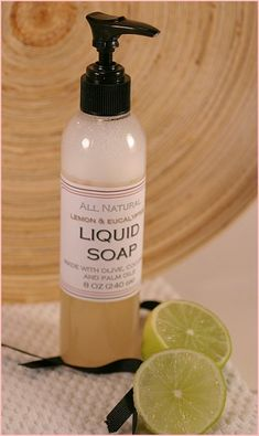 All Natural Liquid Soap Recipe, make your own all liquid hand soap |  The Ponte Vedra Soap Shoppe