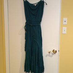 DVF tube dress with tie DVF dress with side tie. So cute! Perfect for summer! Diane von Furstenberg Dresses Maxi