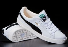 Puma Basket White And Black