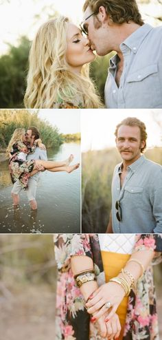 Arizona Engagement Session from LMarie Photography – Style Me Pretty