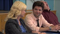 """25 Heartwarming Ben And Leslie Moments From """"Parks & Recreation"""" Leslie And Ben, Parks And Recs, Leslie Knope, Amy Poehler, Getting Back Together, Tv Times, Beauty Shots, Make You Cry, Parks And Recreation"""