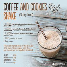 Coffee and Cookies Shake
