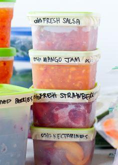 How to Properly Freeze Fruits & Veggies ~~ 11 Secrets!