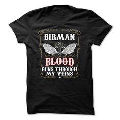 [Top tshirt name origin] BIRMAN Blood Coupon 15% Hoodies, Funny Tee Shirts